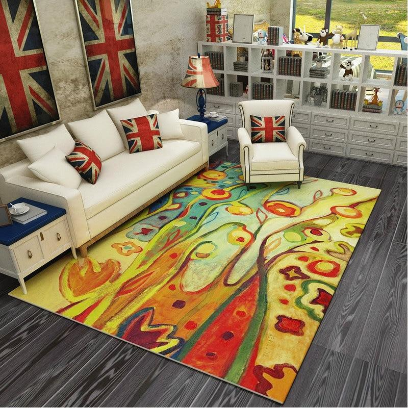 Modern Art Carpets For Living Room - Abstract Area Rugs For Bedroom Home Decor - BO-54 / 120x160 cm/47x63 inch - Rugs