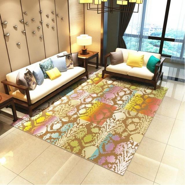 Modern Art Carpets For Living Room - Abstract Area Rugs For Bedroom Home Decor - BO-66 / 120x160 cm/47x63 inch - Rugs