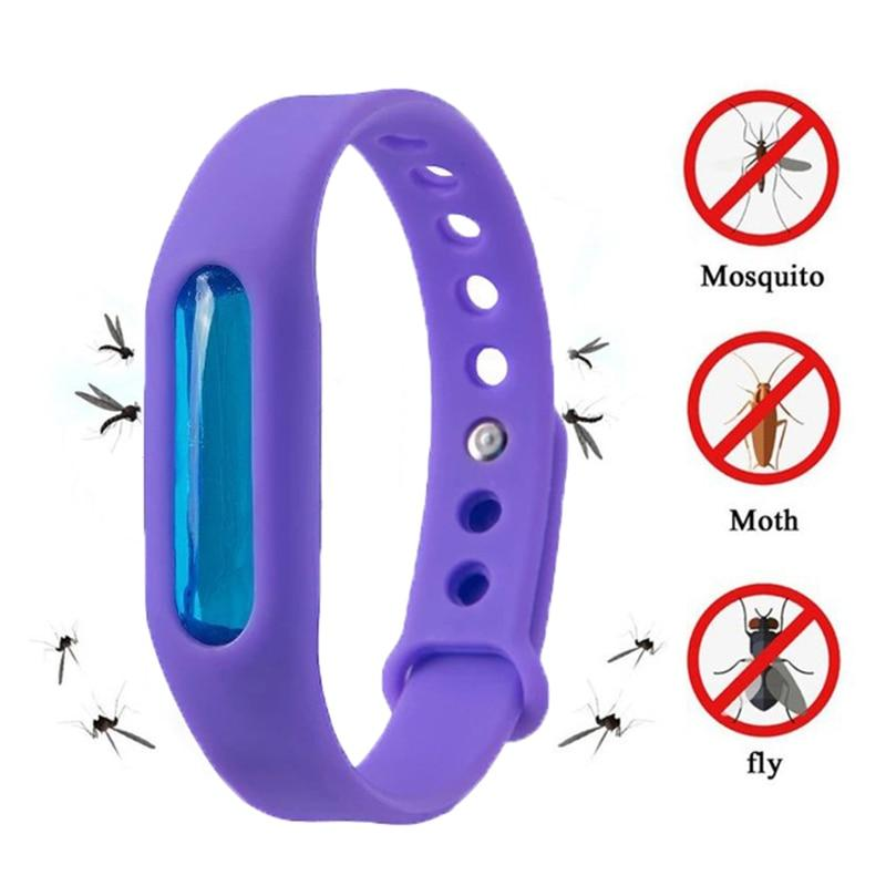 Mosquito Repellent Bracelet Insect Bug Repellent Silicone Wristband - Repellents