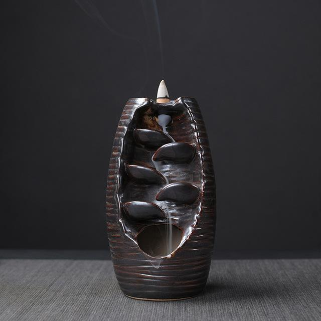 Mountain River Waterfall Backflow Incense Burner - Variant 3