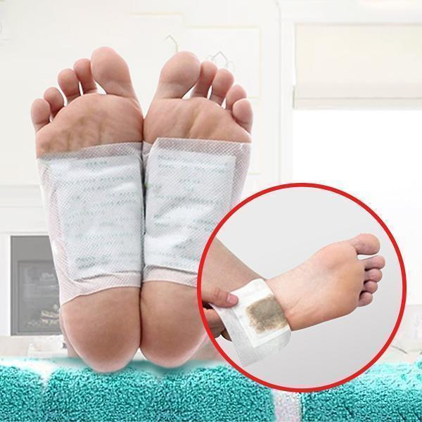 Natural Body Detox Foot Pads Cleansing Improve Sleeping