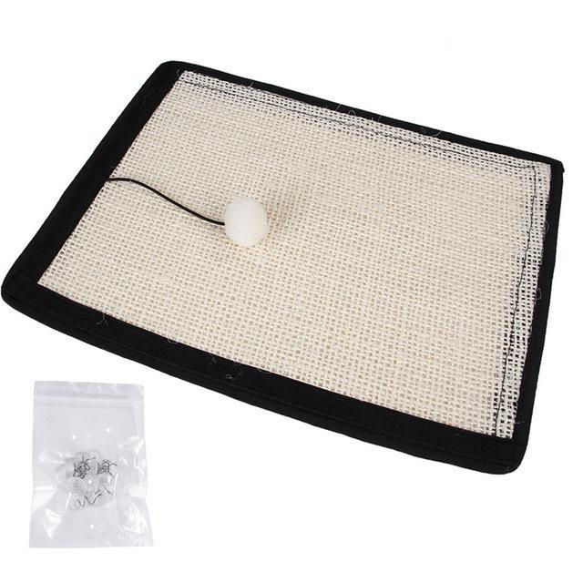 Natural Sisal Furniture Protector Cat Scratching Mat - Couch-Corner Sofa Scratching Pad - Corner - Scratchers