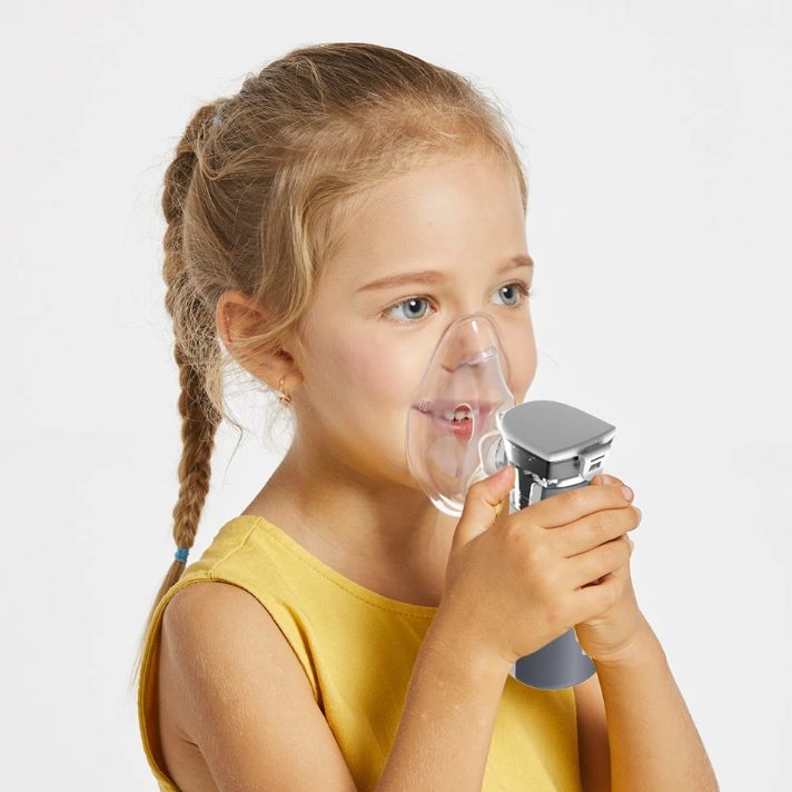 NebuLife - Ultrasonic Handheld Portable Nebulizer Machine For Kids Adult Asthma - Steaming Devices