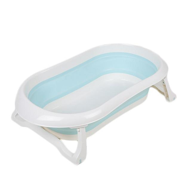 Newborn Folding Bath Tub - Blue