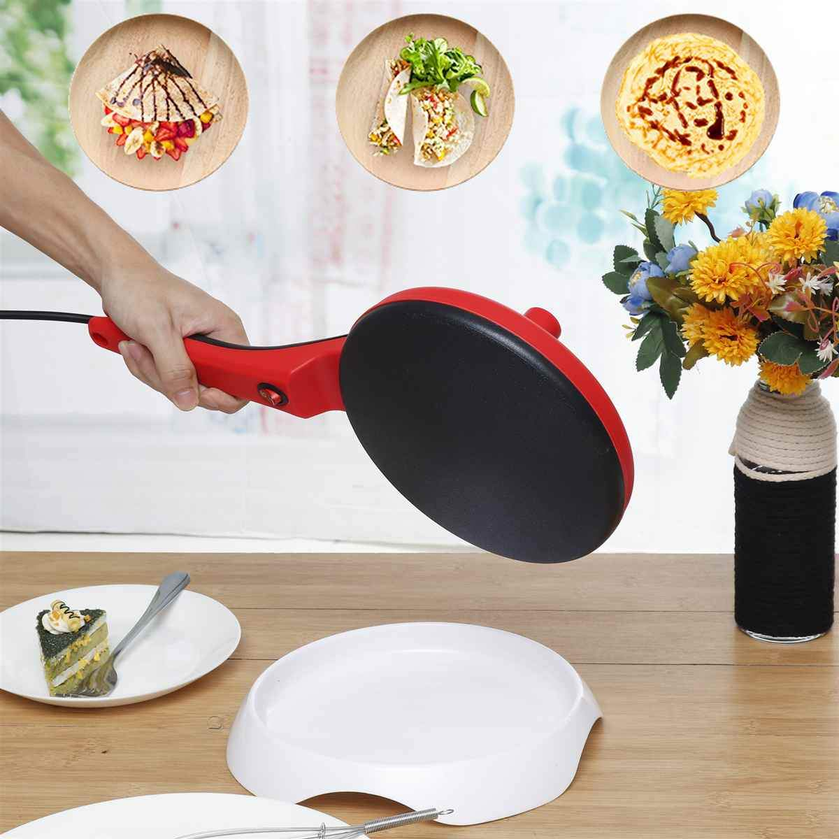 Non-Stick Electric Crepe Maker Machine