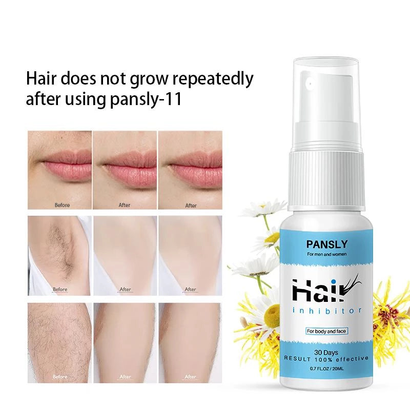 All Natural Hair Growth Inhibitor - Hair Growth Prevention Spray