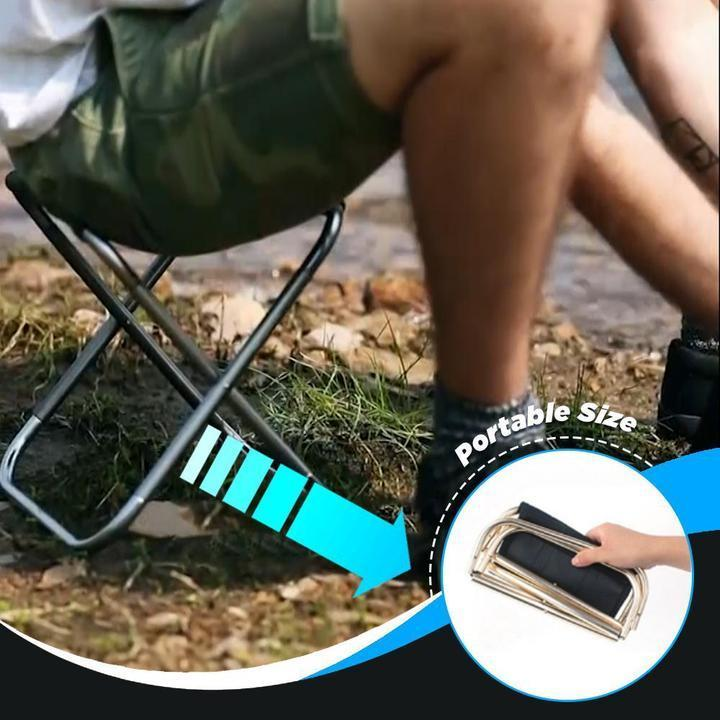 Pocket Chair - Ultra-light Foldable Chair For Fishing Camping Outdoor Picnic - Fishing Chairs