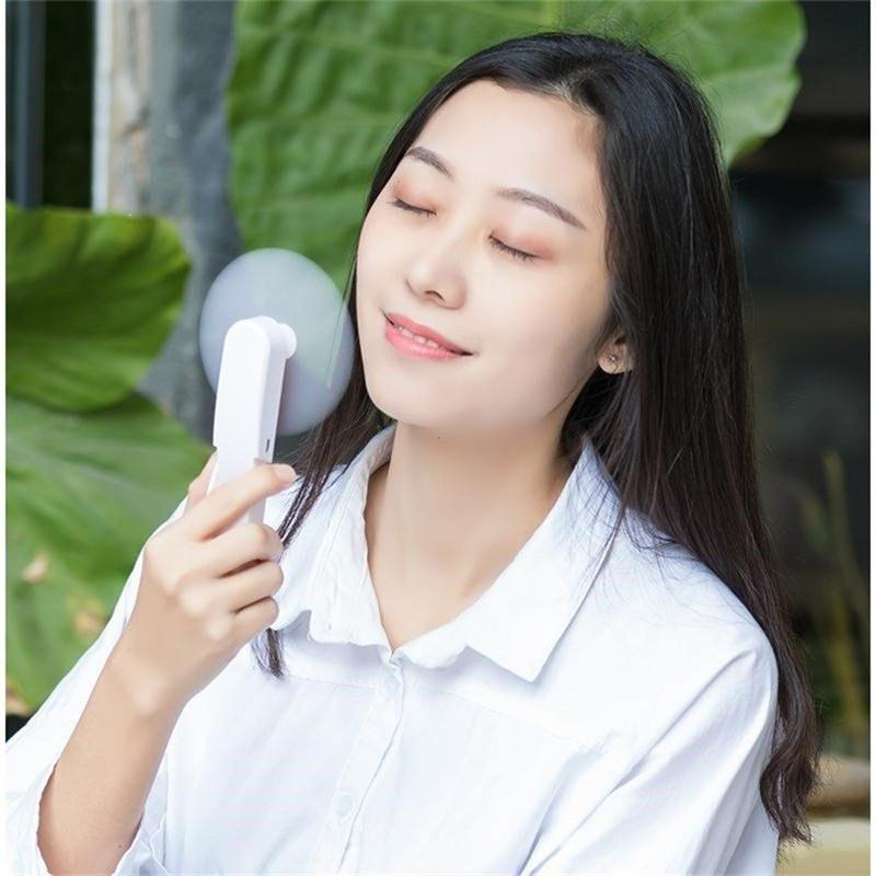 Portable Handheld Mini USB Rechargeable Pocket Fan - Foldable Travel Fan - Fans