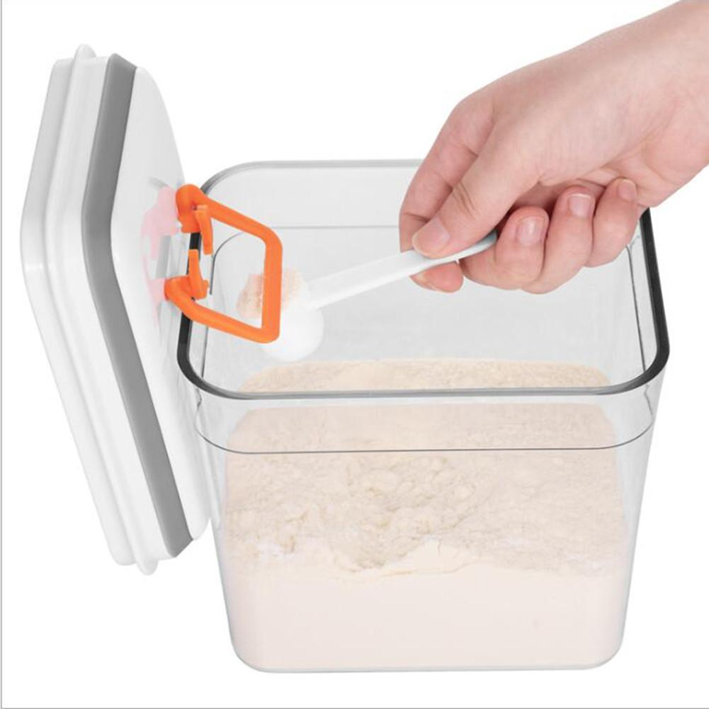 PushNPop Multifunctional Kitchen Airtight Food Storage Container Milk Powder Storage Box - Storage Bottles & Jars