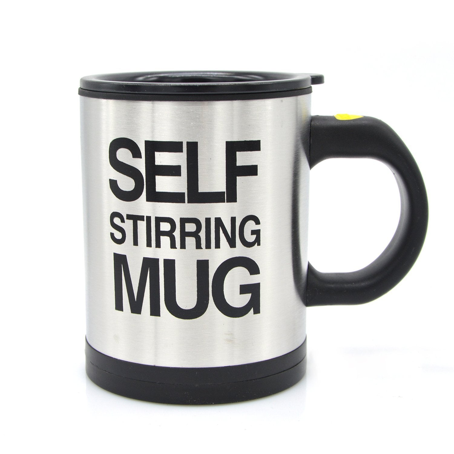 Lazy Self Stirring Mug - Black