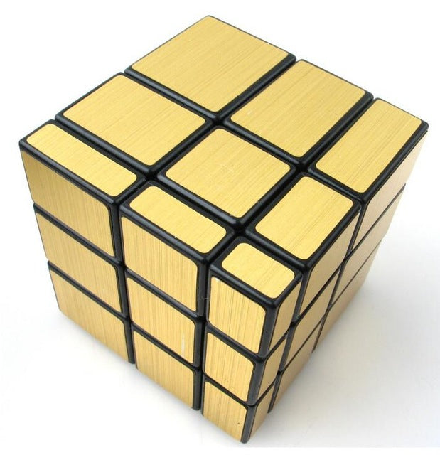 Magic Mirror Cube - Black Gold