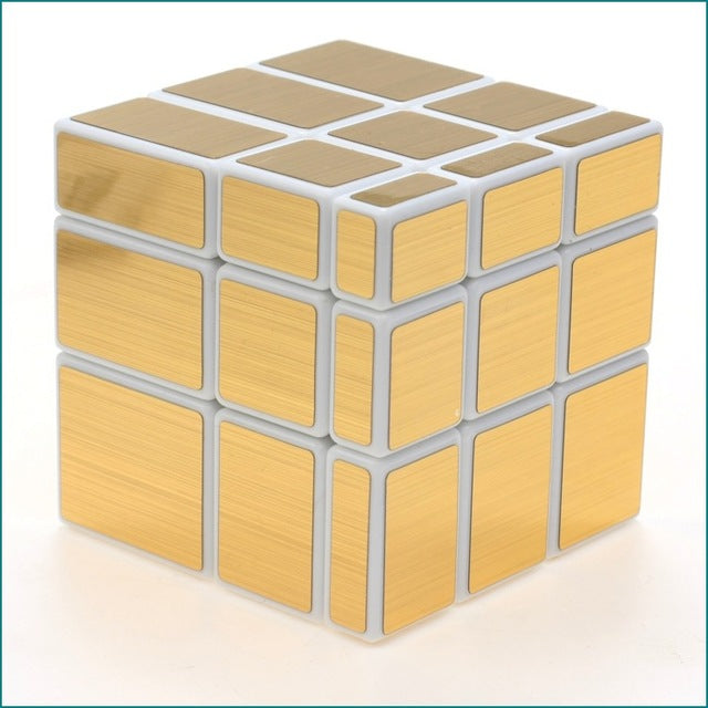 Magic Mirror Cube - White Gold