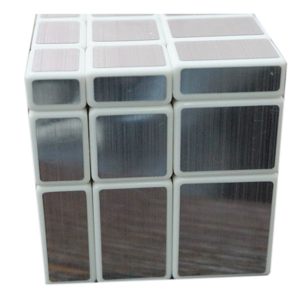 Magic Mirror Cube - White Silver