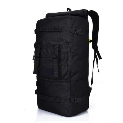 Military Grade Tactical Backpack - Black