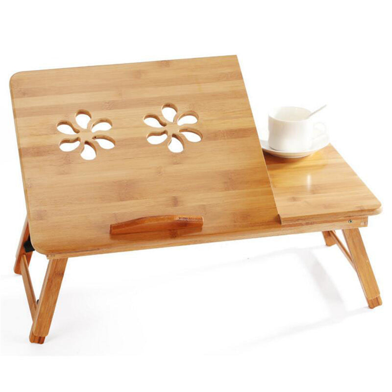 Foldable Bamboo Laptop Table Desk