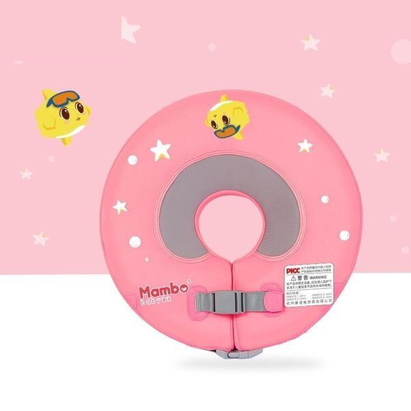 Baby Neck Floating Ring - Pink L 10Cm