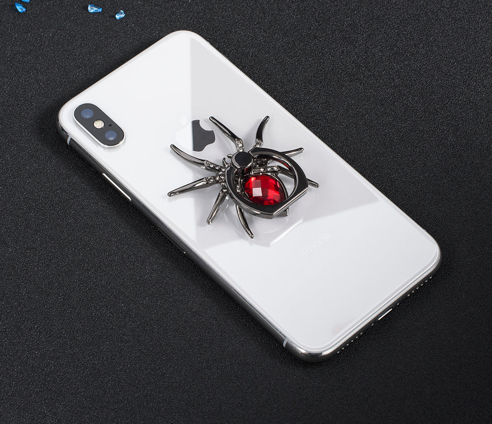 Universal Luxury Metal Spider Phone Finger Ring Holder
