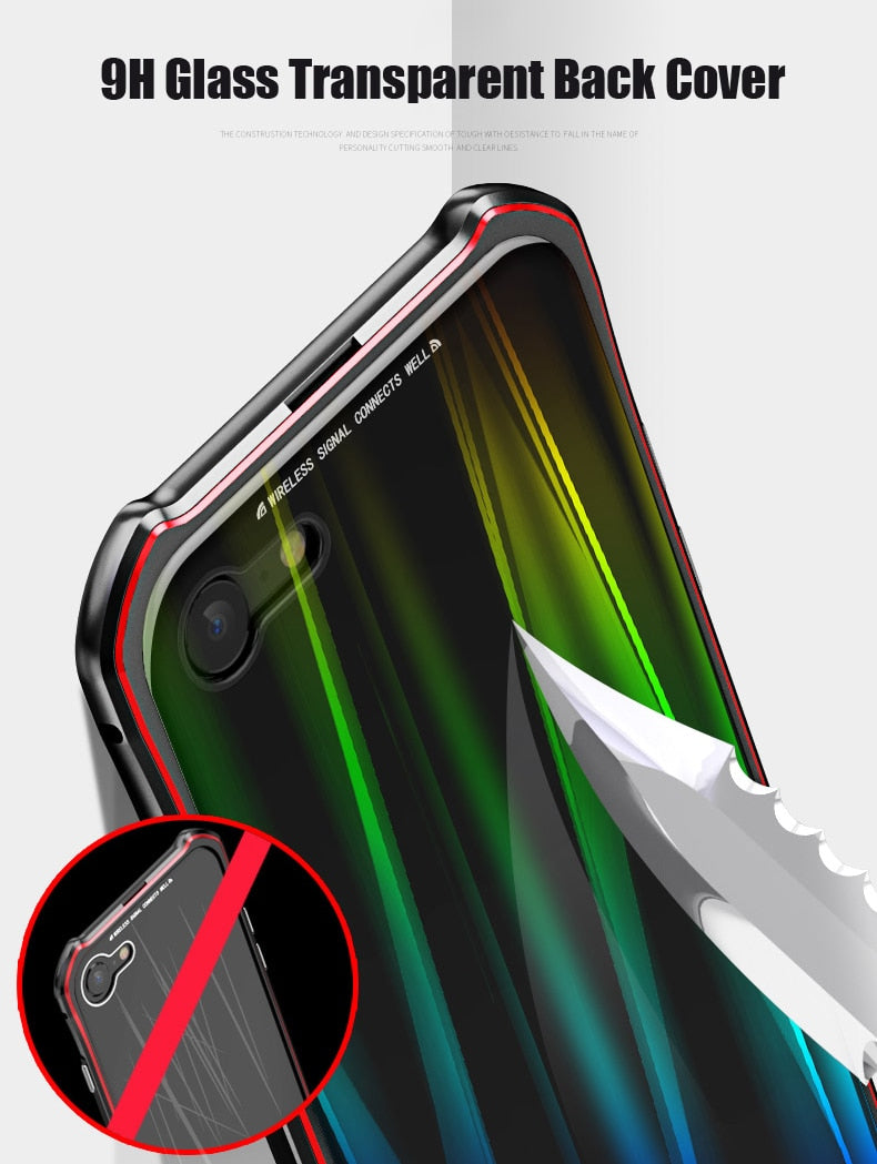 Luxury Shockproof Aluminum Case For Iphone Xs Max Xr Xs 8 7 Plus