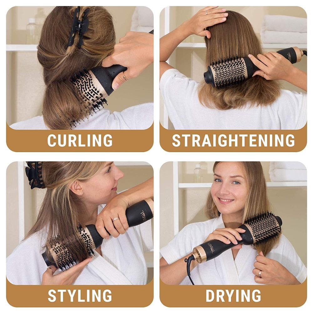 Professional One-Step Hair Dryer Brush Curler & Volumizer