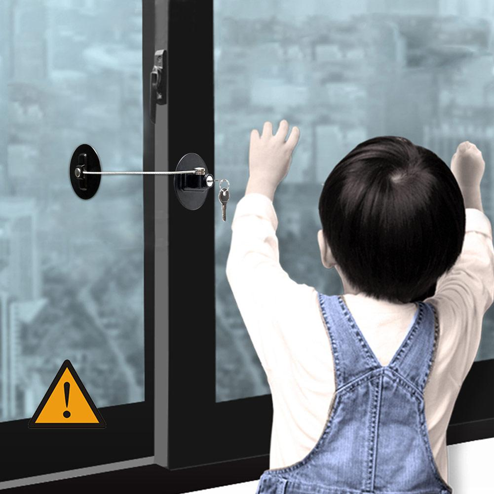 Refrigerator Lock Child Door Window Fridge Kid Safety Lock