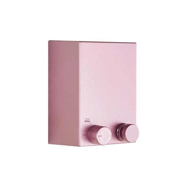 Retractable Wall Mounted Laundry Dryer Clothesline - Pink