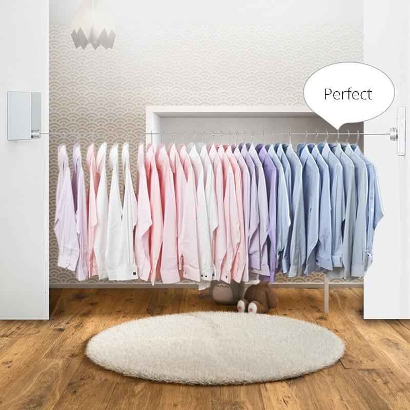 Retractable Wall Mounted Laundry Dryer Clothesline
