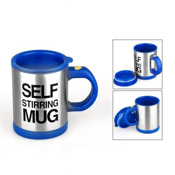 Self Stirring Mug - Deep Blue