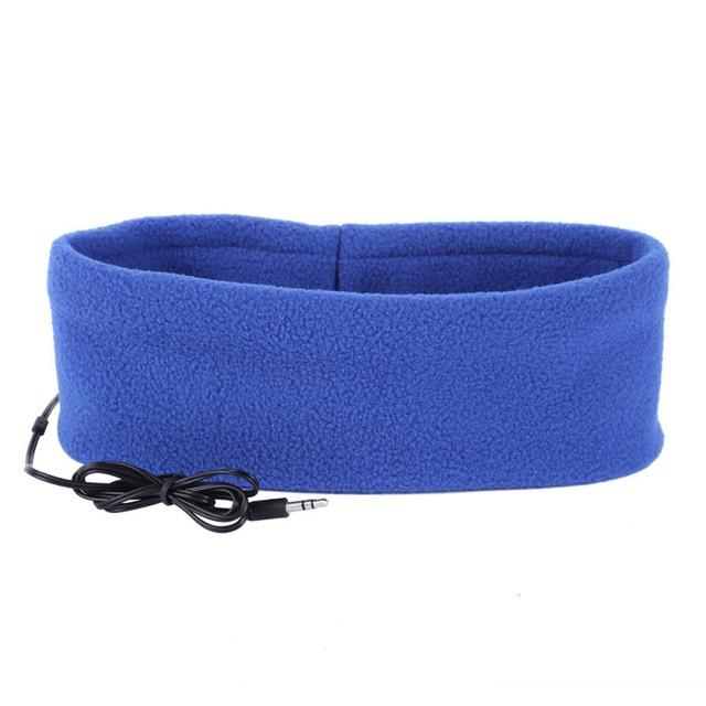 SleepBand - Comfortable Noise Cancelling Sleeping Headphones Headband - Blue - Headphone/Headset