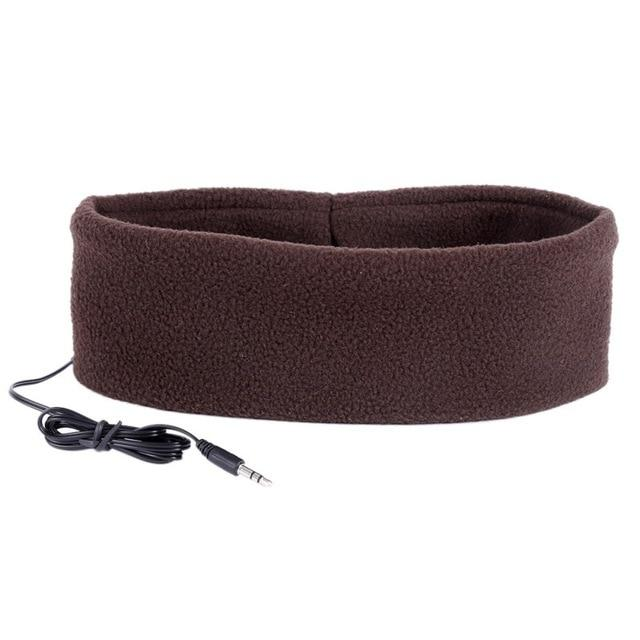 SleepBand - Comfortable Noise Cancelling Sleeping Headphones Headband - Coffee - Headphone/Headset