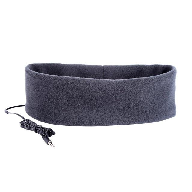 SleepBand - Comfortable Noise Cancelling Sleeping Headphones Headband - Dark Gray - Headphone/Headset