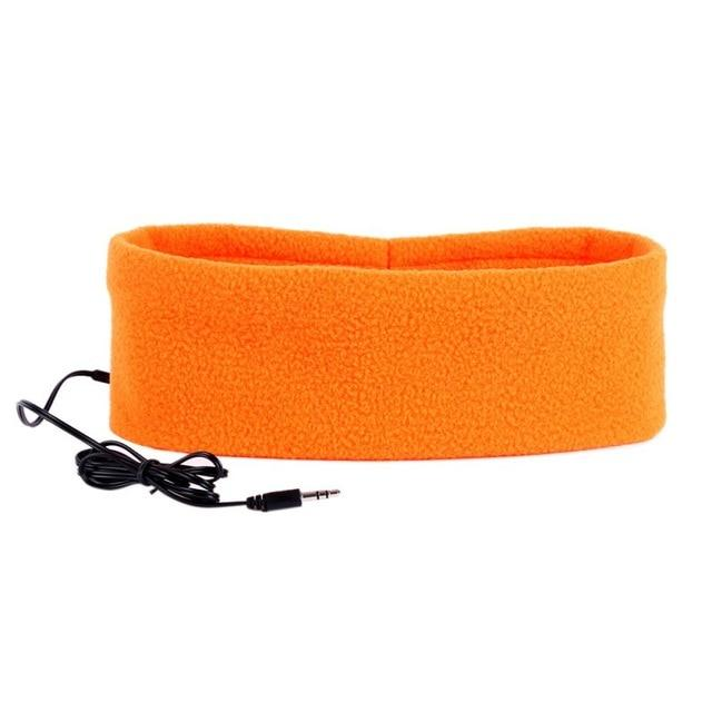 SleepBand - Comfortable Noise Cancelling Sleeping Headphones Headband - Orange - Headphone/Headset