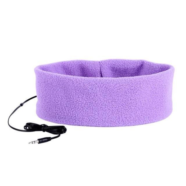 SleepBand - Comfortable Noise Cancelling Sleeping Headphones Headband - Purple - Headphone/Headset