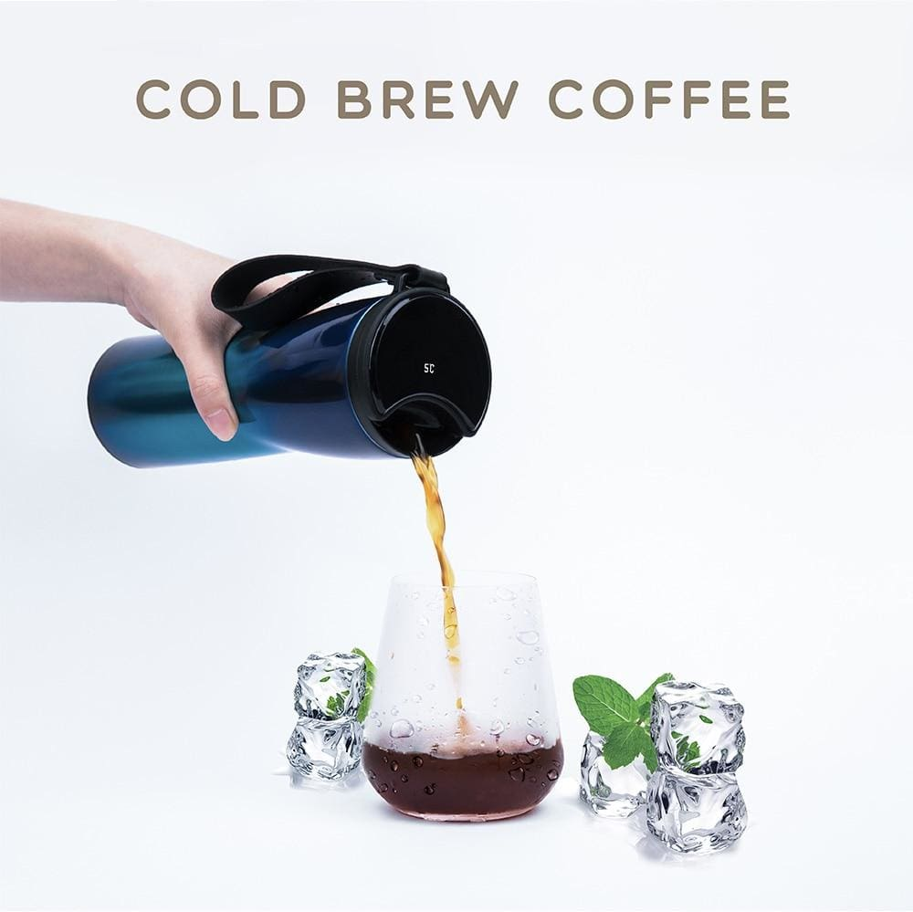 Smart Travel Coffee Cup/tumbler With Temperature Display