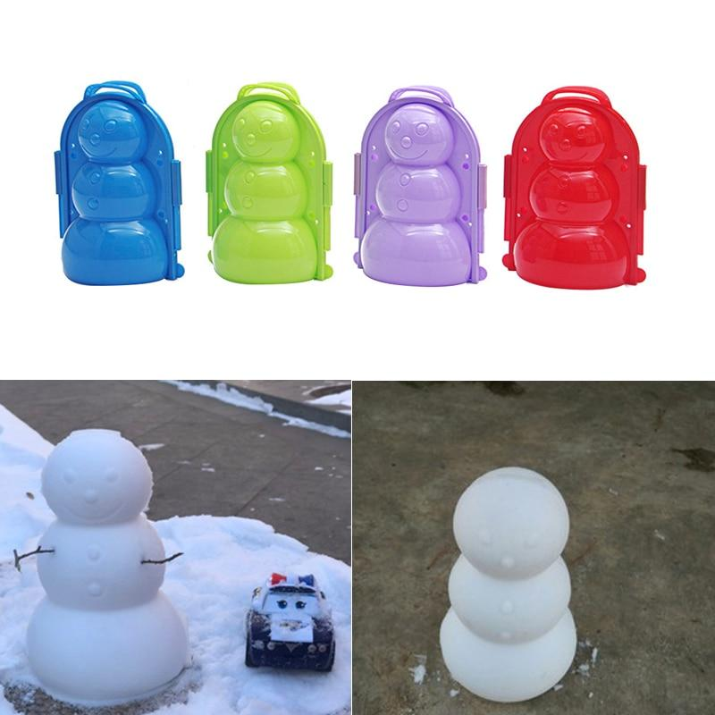 Snow Duck Maker - Winter Snowball Maker - Snow Sand Mold Tool - Snowman Mold - Toy Sports