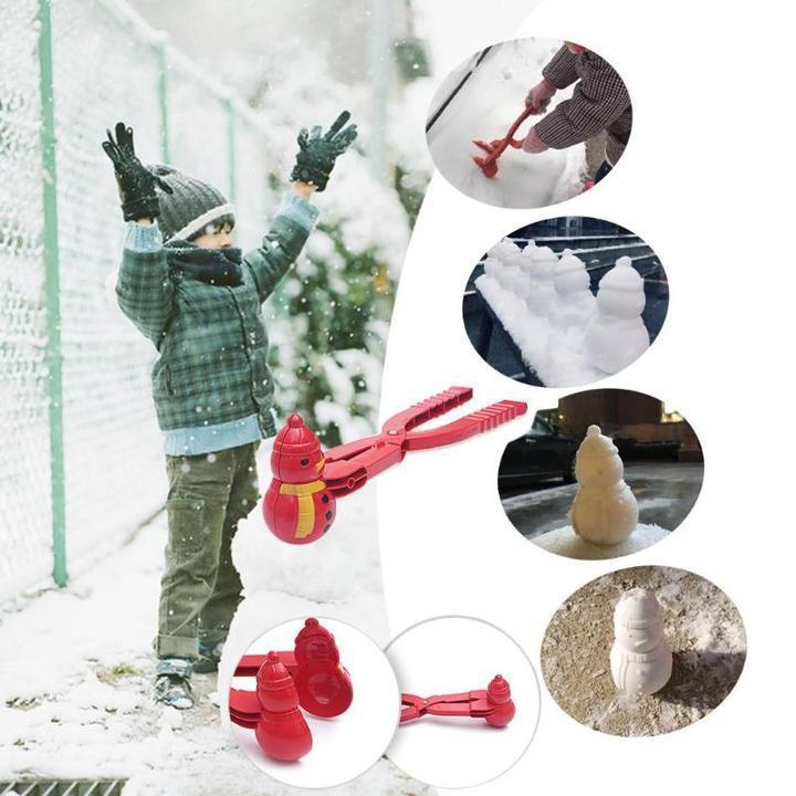 Snow Duck Maker - Winter Snowball Maker - Snow Sand Mold Tool - Toy Sports