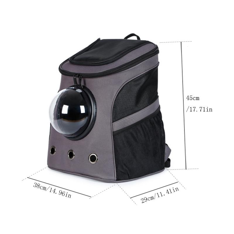 The Fat Cat Backpack For Larger Cats - Capsule Bubble Window Cat Carrier