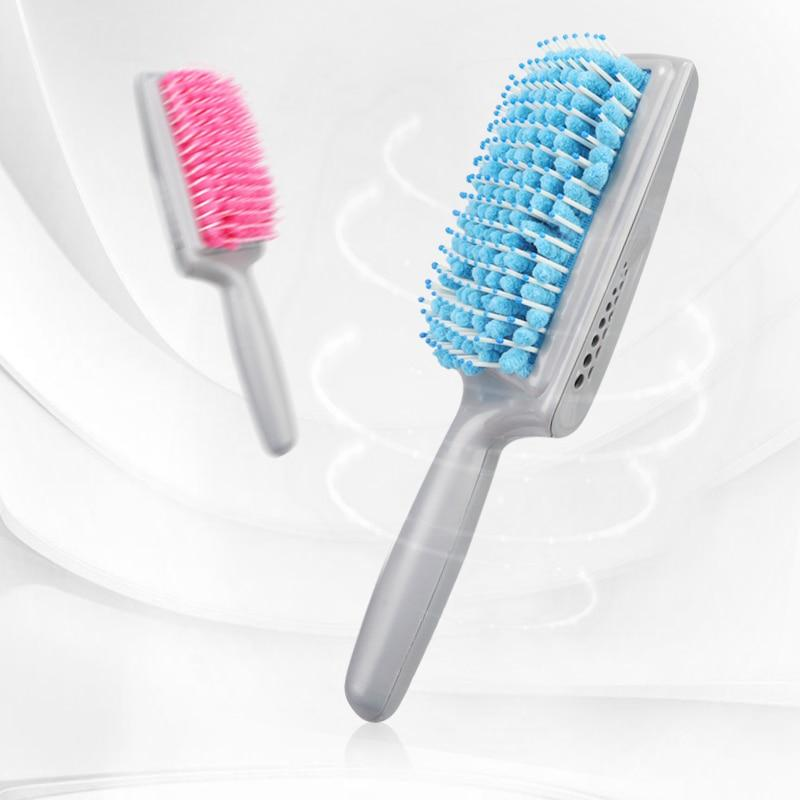 TowelComb - Quick Dry Hair Styling Water Absorbent Detangling Paddle Brush