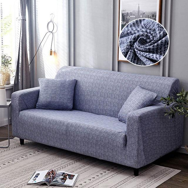 Ultimate Stretch Sofa Slipcover - Ultra-Comfy Polyester Loveseat Couch Cover - Design C / Chair - 1 Seat / 90-140cm(35-55 inch) - Sofa Cover