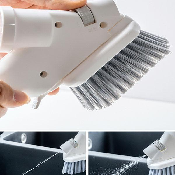 Versatile Household Spray Cleaning Brush Kit - Window Glass Mirror Cleaning Tool