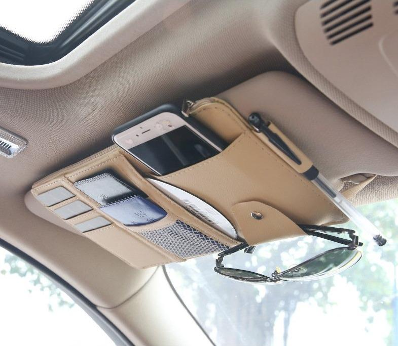 VisorPlus - Universal All In One Car Sun Visor Organizer Storage Bag