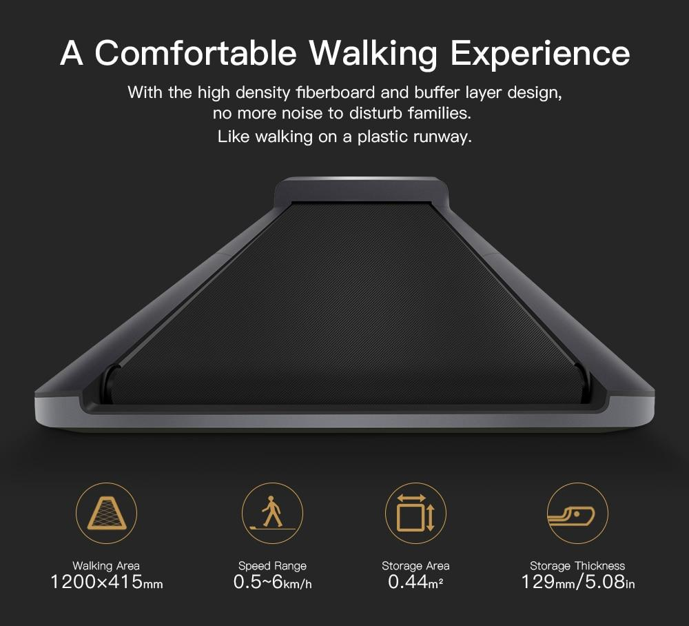 WalkingPad A1 - Smart Electric Foldable Treadmill For Home Jog Fast Walk Machine - Treadmills