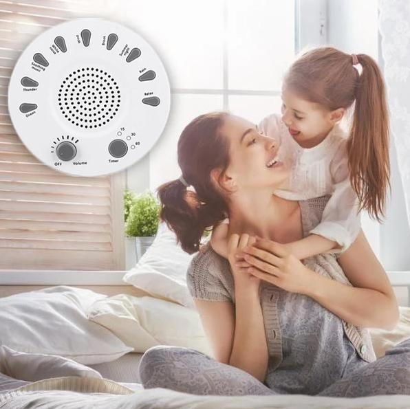 White Noise Sleep Improving Device - Sound Therapy Sleeping Aid For Baby & Adult - Baby Sleeping Monitors