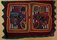 Kuna Indian Hand-Stitched Blunt Nose Hummingbird MoIa-Panama 20010203mm