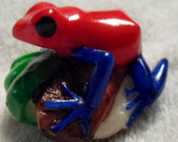 Wounaan Embera Tagua Nut Poison Dart Frog Carving-Panama 20010607mm