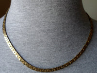 Gold-Plate Choker  Necklace Jewelry 20011723mm
