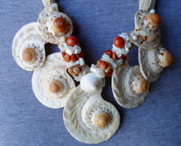 Estate Sale Jewelry Super Seashell Necklace 20012302mm