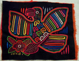 Kuna Indian Hand-Stitched Proud Parrot Bird MoIa-Panama 20011701mm
