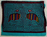 Kuna Indian Hand-Stitched Former Blouse MoIa-Panama 20020521mm