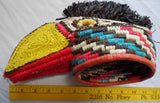 Wounaan Indian Woven Magnificent Toucan Bird Mask-Panama 20021105mm