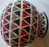 Wounaan Indian Hand Woven Large Geometric Basket -Panama 20101516mm